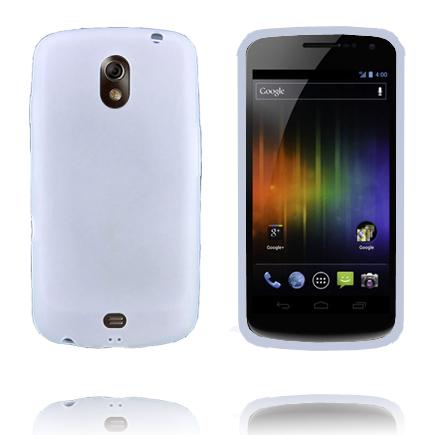 TPU Shell (Vit) Samsung Galaxy Nexus Skal
