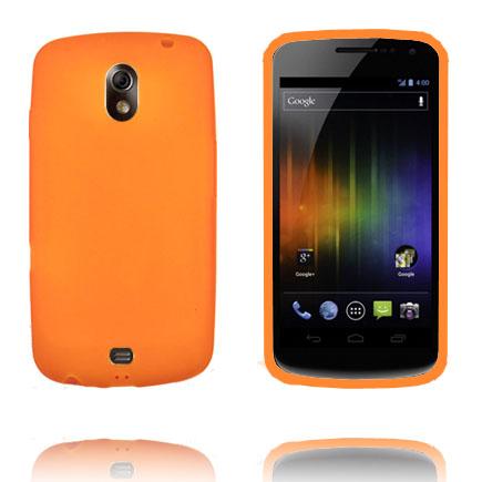 TPU Shell (Orange) Samsung Galaxy Nexus Skal