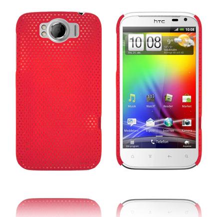 Atomic (Röd) HTC Sensation XL Skal