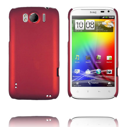 Hårdskal (Röd) HTC Sensation XL Skal
