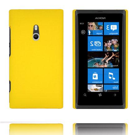 Hårdskal (Gul) Nokia Lumia 800 Skal
