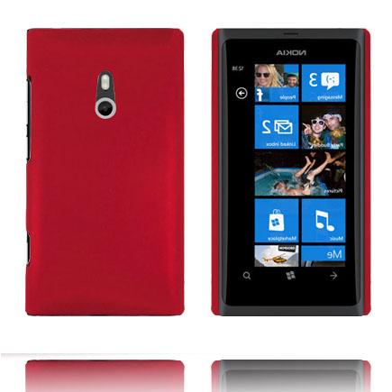 Hårdskal (Röd) Nokia Lumia 800 Skal