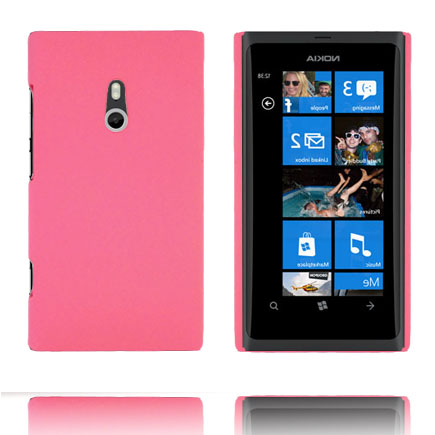 Hårdskal (Ljusrosa) Nokia Lumia 800 Skal