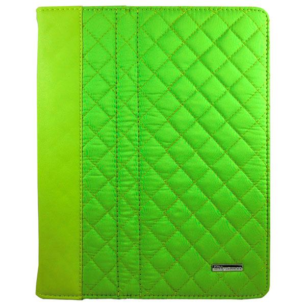 Elegance – Tygskal för iPad 3/iPad 4 (Grön)