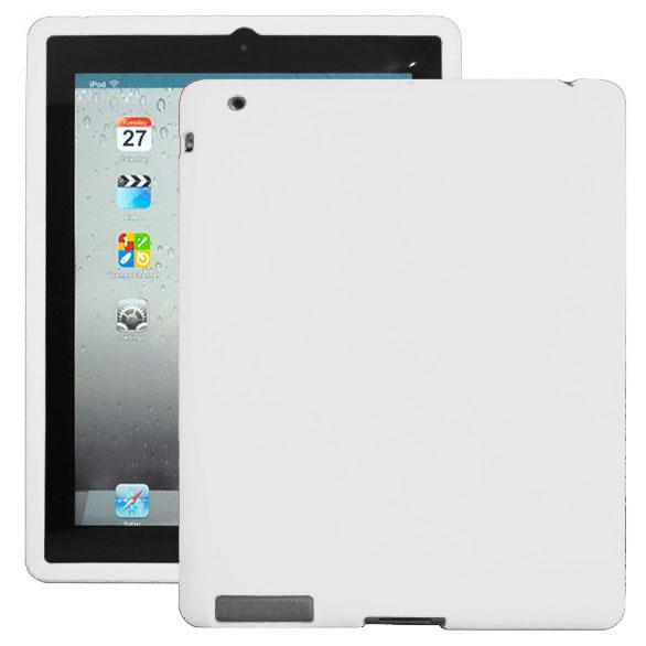 Mjukskal (Vit) iPad 3 Skal / iPad 4 Skal