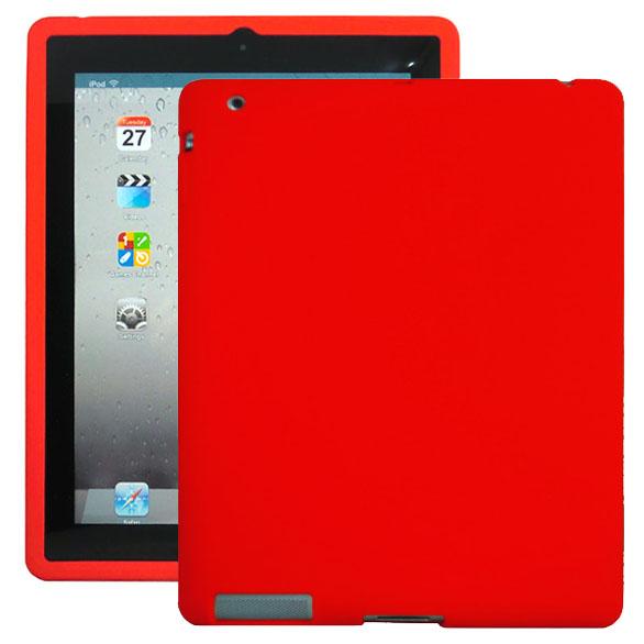 Mjukskal (Röd) iPad 3 Skal / iPad 4 Skal