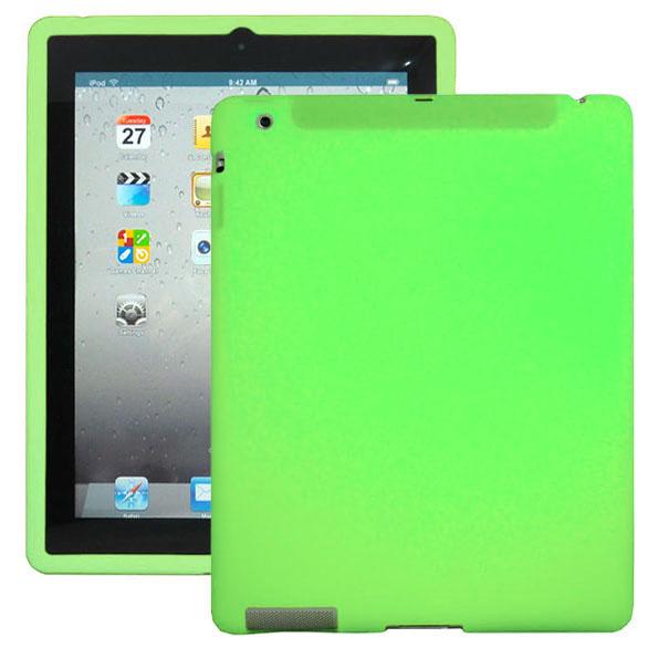 Mjukskal (Ljusgrön) iPad 3 Skal / iPad 4 Skal