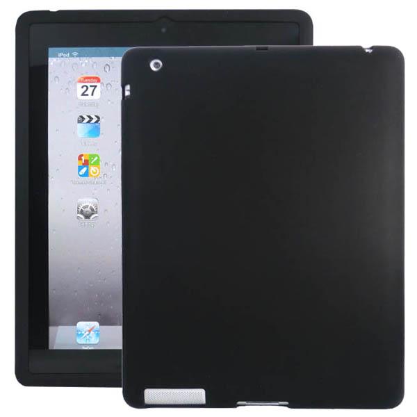 Mjukskal (Svart) iPad 3 Skal / iPad 4 Skal