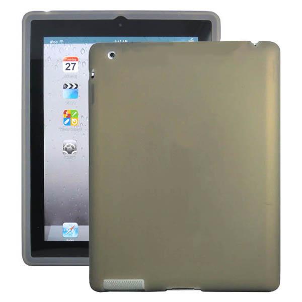 Mjukskal (Grå) iPad 3 Skal / iPad 4 Skal