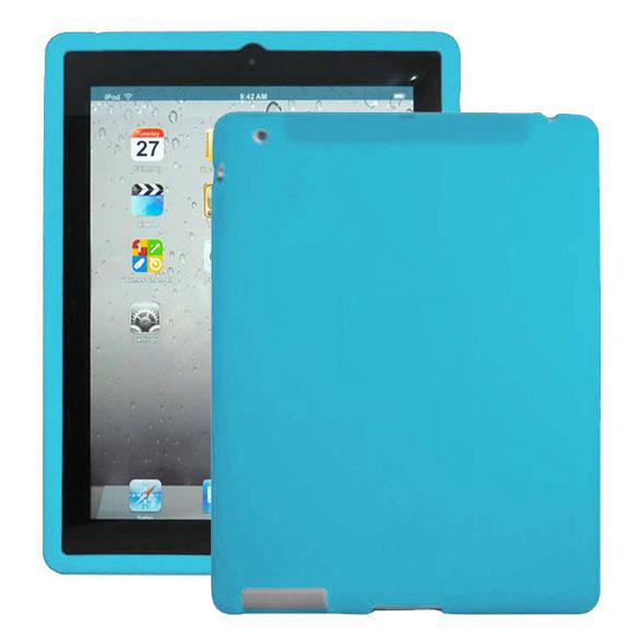 Mjukskal (Ljusblå) iPad 3 Skal / iPad 4 Skal