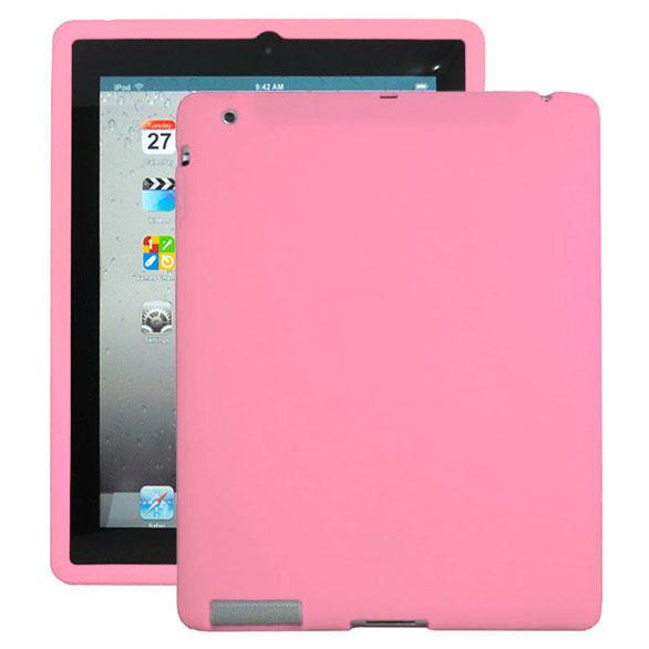 Mjukskal (Rosa) iPad 3 Skal / iPad 4 Skal