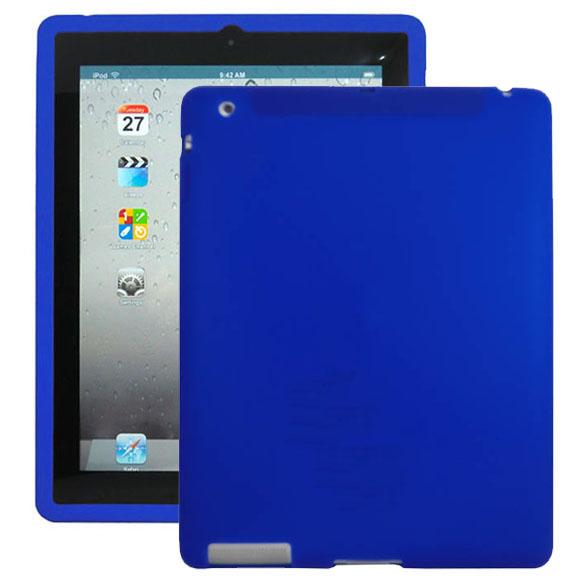 Mjukskal (Blå) iPad 3 Skal / iPad 4 Skal