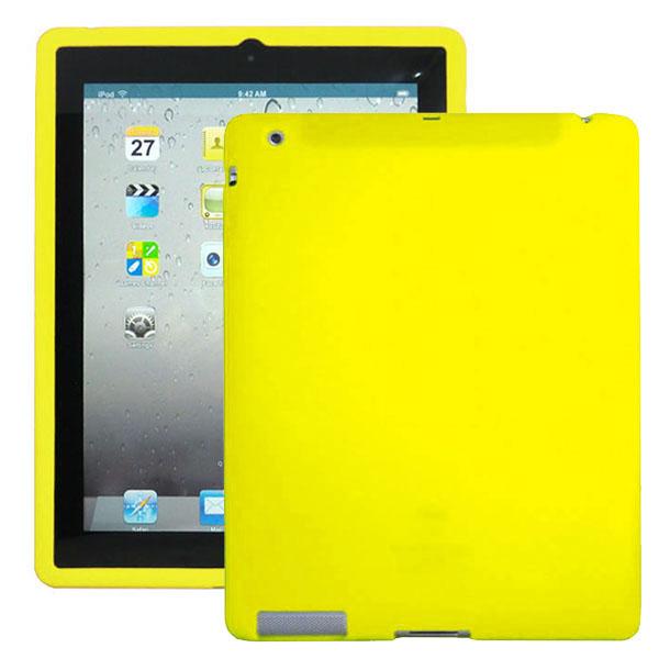 Mjukskal (Gul) iPad 3 Skal / iPad 4 Skal
