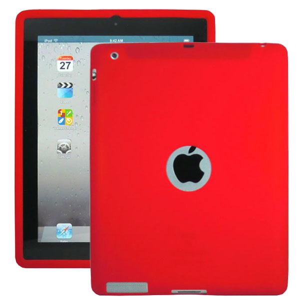Mjukskal Logo (Röd) iPad 3/iPad 4 Skal