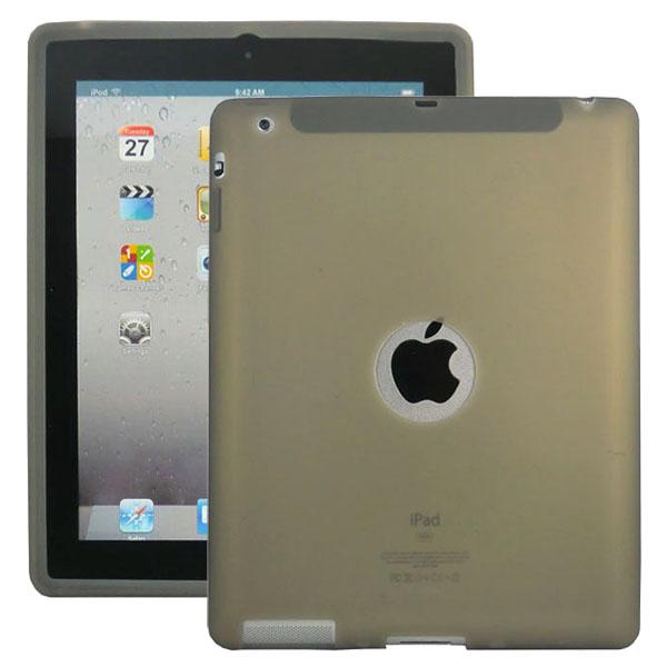 Mjukskal Logo (Grå) iPad 3/iPad 4 Skal