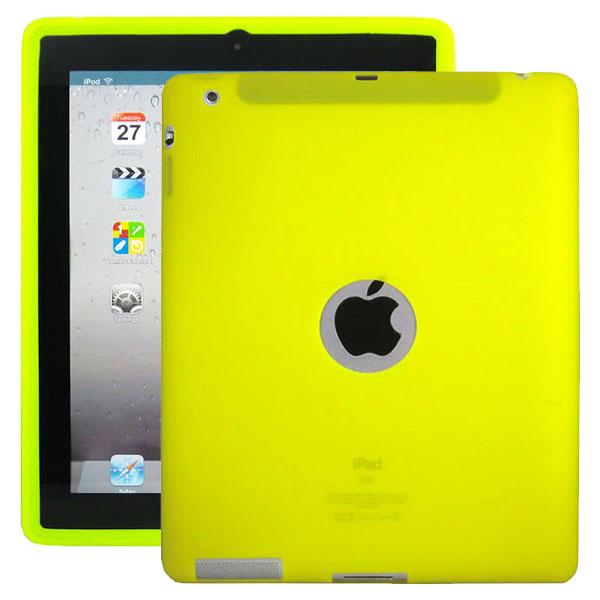 Mjukskal Logo (Gul) iPad 3/iPad 4 Skal