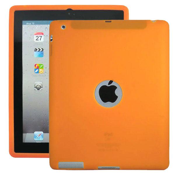 Mjukskal Logo (Orange) iPad 3/iPad 4 Skal