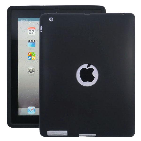 Mjukskal Logo (Svart) iPad 3/iPad 4 Skal