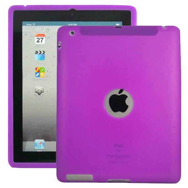 Mjukskal Logo (Lila) iPad 3/iPad 4 Skal