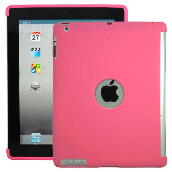 Mjukskal – Smart Cut (Rosa) iPad 3 / iPad 4 Silikonskal