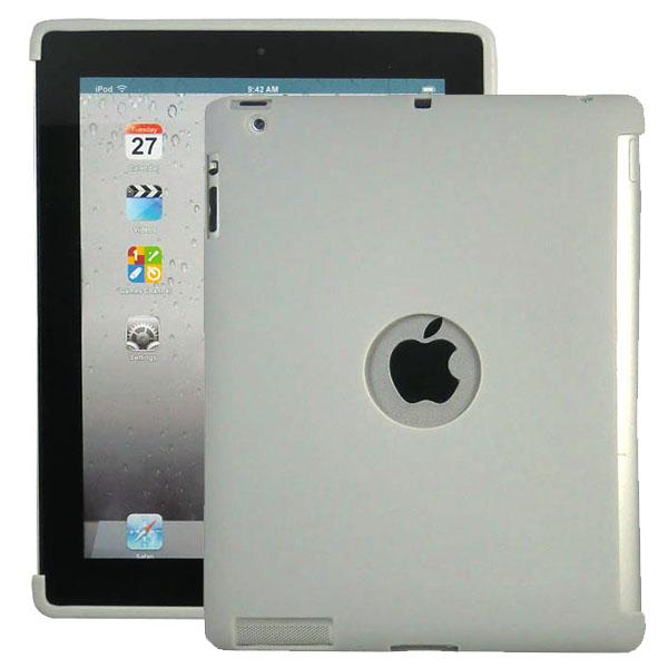 Mjukskal – Smart Cut (Grå) iPad 3 / iPad 4 Silikonskal