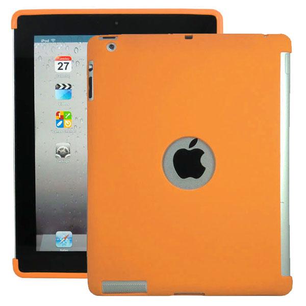 Mjukskal – Smart Cut (Orange) iPad 3 / iPad 4 Silikonskal