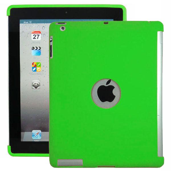 Mjukskal – Smart Cut (Grön) iPad 3 / iPad 4 Silikonskal