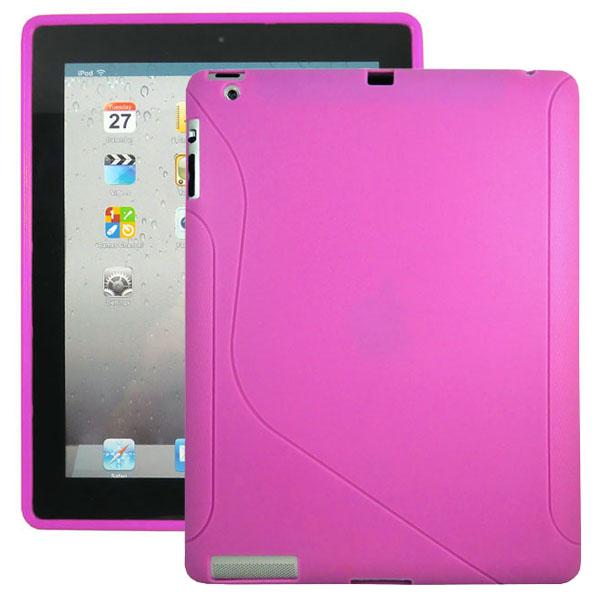 S-Line (Het Rosa) iPad 3/iPad 4 Silikonskal