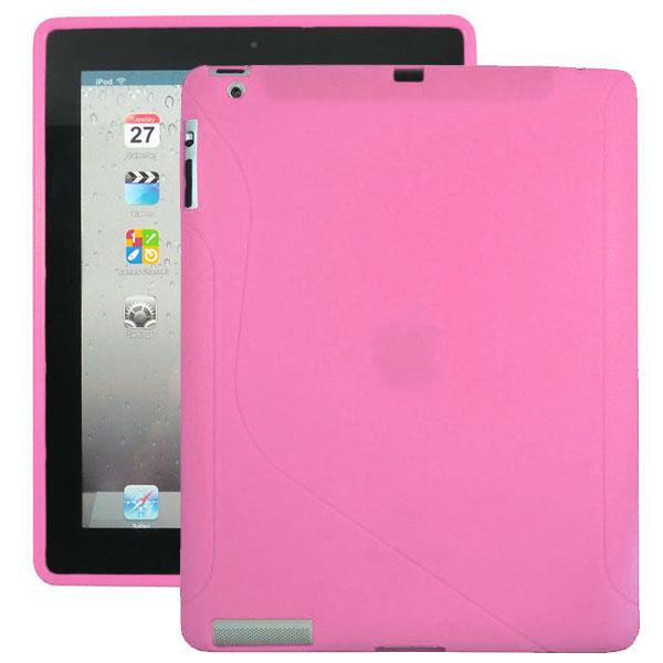 S-Line (Rosa) iPad 3/iPad 4 Silikonskal