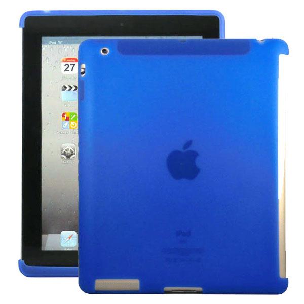 Mjukskal Smart Cut (Blå) iPad 3/iPad 4 Skal