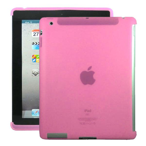 Mjukskal Smart Cut (Rosa) iPad 3/iPad 4 Skal