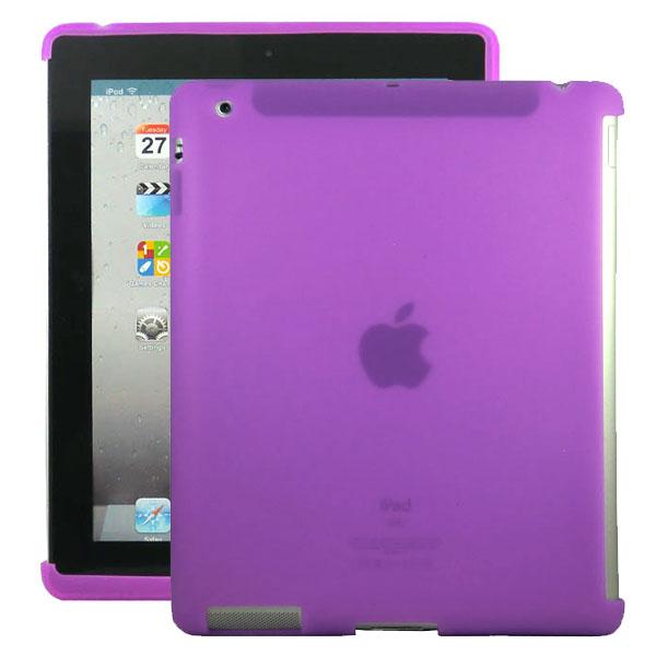 Mjukskal Smart Cut (Lila) iPad 3/iPad 4 Skal