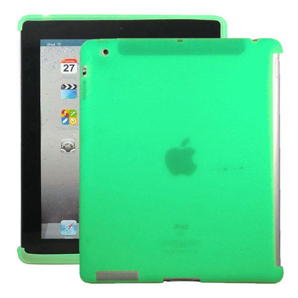 Mjukskal Smart Cut (Grön) iPad 3/iPad 4 Skal