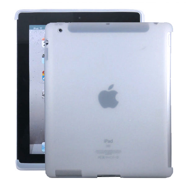 Mjukskal Smart Cut (Vit) iPad 3/iPad 4 Skal