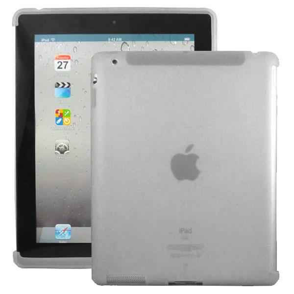 Mjukskal Smart Cut (Grå) iPad 3/iPad 4 Skal