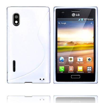 Solid S-Line (Vit) LG Optimus L5 Skal