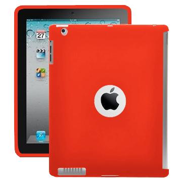 Color Shell (Röd) iPad 2 Silikonskal