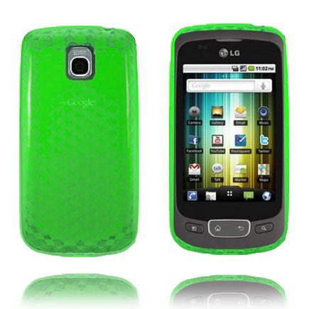 Cubes (Grön) LG Optimus One Skal