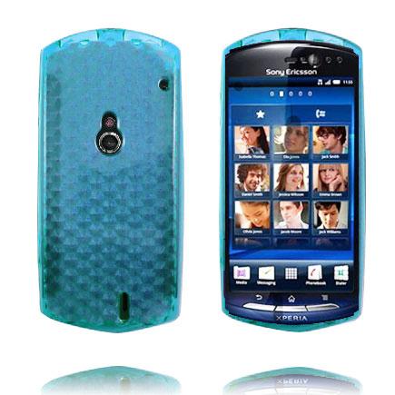 Cubes (Ljusblå) Sony Ericsson Xperia Neo Skal