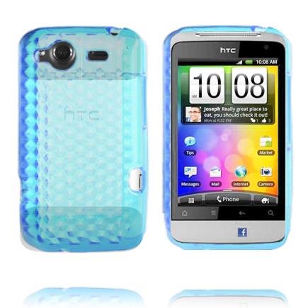 Cubes (Ljusblå) HTC Salsa Skal