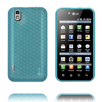 Cubes (Blå) LG Optimus Black Skal