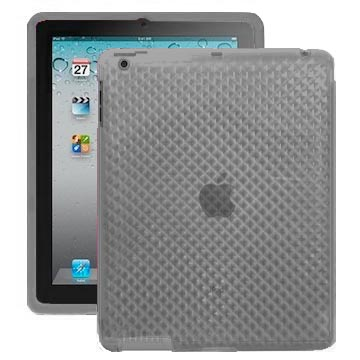 Cubes (Transparent Grå) iPad 2 Silikonskal