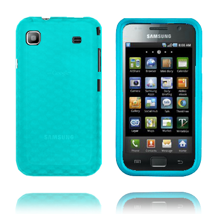 Cubes (Blå) Samsung Galaxy SL Skal