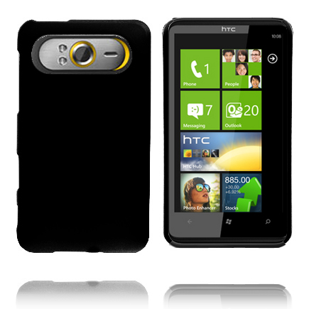 Hårdskal (Svart) HTC HD7 Skal