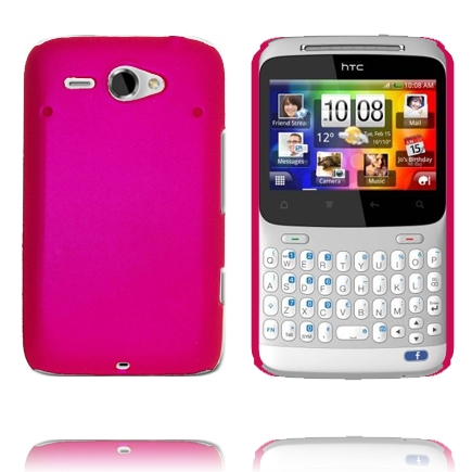 Hårdskal Version 2 (Het Rosa) HTC ChaCha Skal