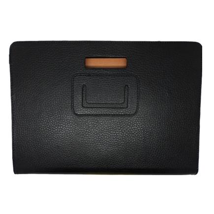 Samsung Galaxy Tab 10.1 P7100 Läderfodral Stativ (Svart)