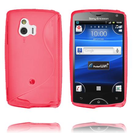 S-Line (Röd) Sony Ericsson Xperia Mini Skal