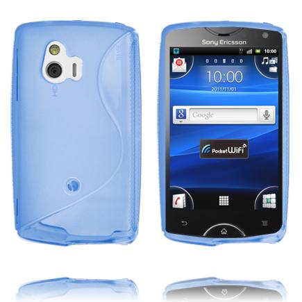 S-Line (Blå) Sony Ericsson Xperia Mini Skal