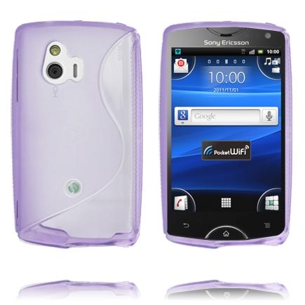 S-Line (Lila) Sony Ericsson Xperia Mini Skal