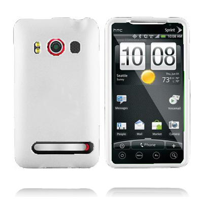 Olympia (Vit) HTC Evo 4G Skal